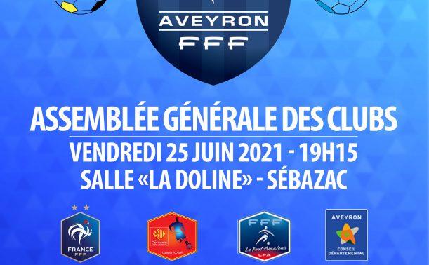 Assemblée Générale du District Aveyron de Football