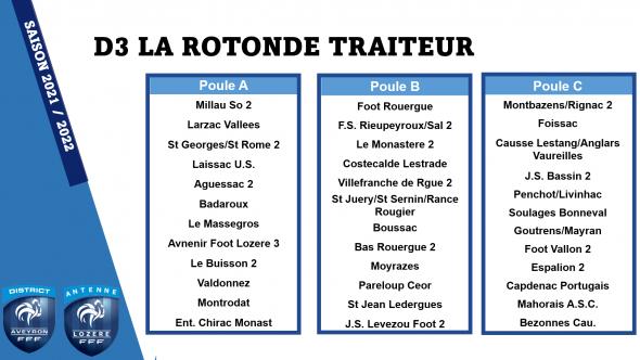 D3 LA RETONDE TRAITEUR