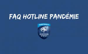 FAQ HOTLINE PANDEMIE